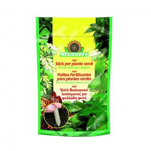 Palitos fertilizantes plantas verdes Neudorff