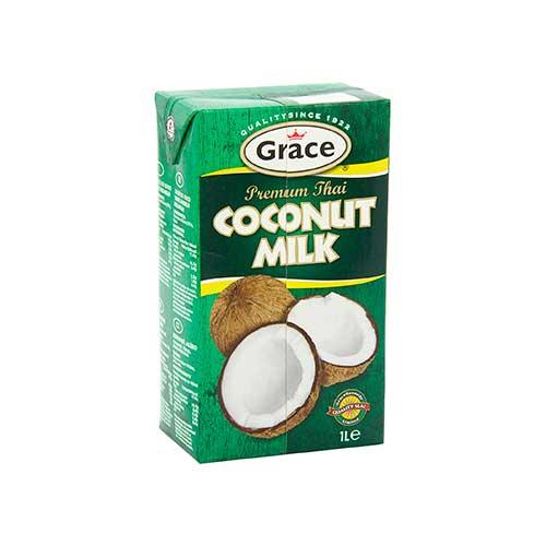 Leche de coco Grace Premium 12 x 1 litro