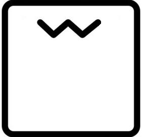 Símbolo horno grill