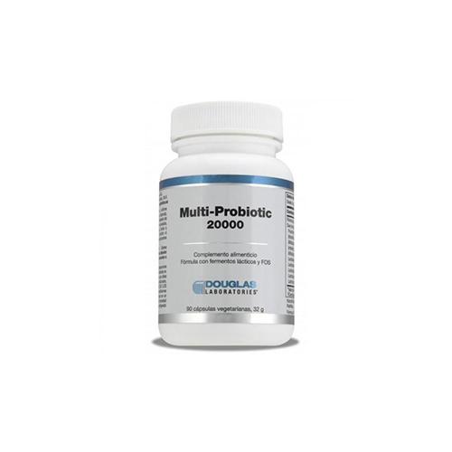 Multi - Probiotico 20000 Laboratorios Douglas, 90 cápsulas vegetarianas