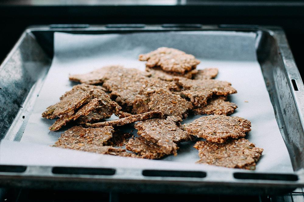 Crackers sin gluten de trigo sarraceno
