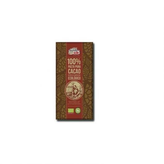Pasta Pura 100% cacao en tableta Chocolates Solé 100 g