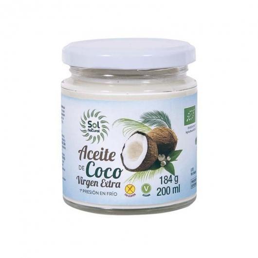 Aceite de coco virgen extra Bio Sol Natural