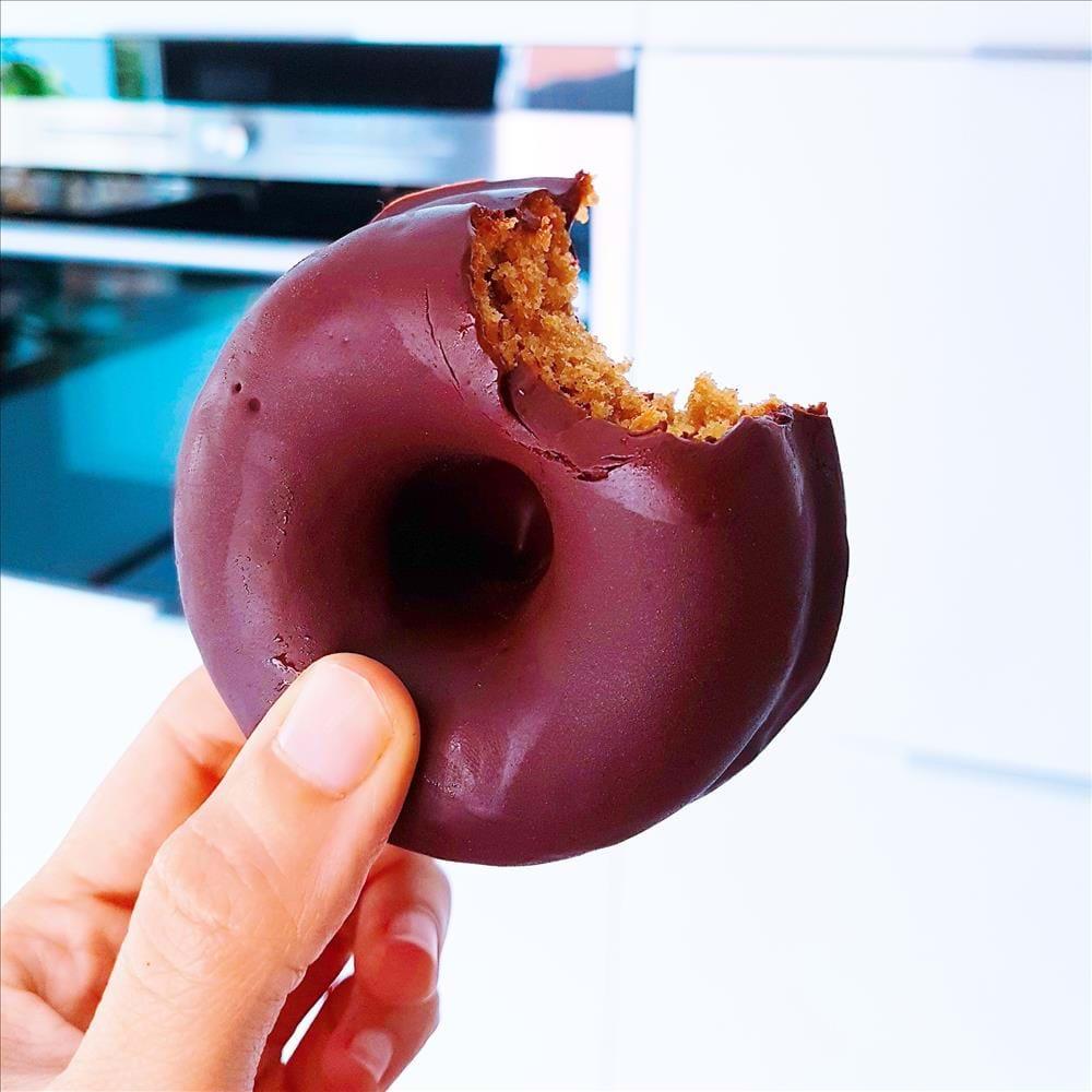 Donuts sin gluten, sin azúcar refinado y sin lácteos